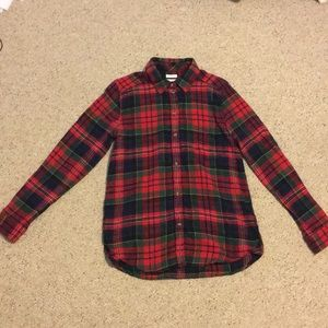 American Eagle Boy friend Fit Flannel
